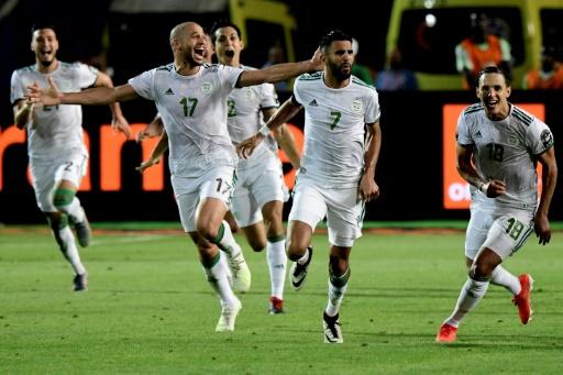 L'Algérie bat le Nigeria 2 à 1 et rejoint le Sénégal en finale de la CAN-2019