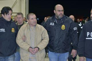 El Chapo, un des plus grands barons de la drogue, risque la perpétuité