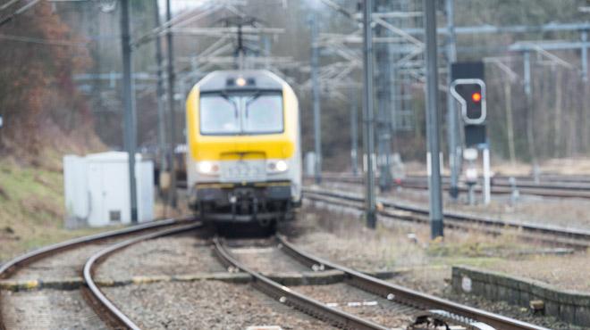 Une avarie de caténaire perturbe le trafic ferroviaire vers Welkenraedt