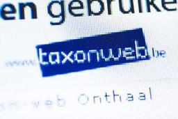 Un peu plus de déclarations remplies via Tax-on-web que l'année dernière