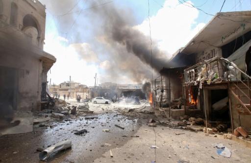 Syrie: 11 civils tués dans des raids du régime (ONG)
