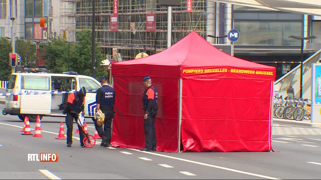 Piéton renversé par un chauffard place Rogier à Bruxelles: le suspect a été libéré sous conditions