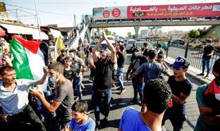 Liban- des Palestiniens manifestent contre des mesures anti-travail illégal