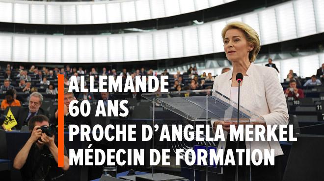 Pour la 1e fois, une femme devient présidente de la Commission européenne: qui est Ursula von der Leyen?