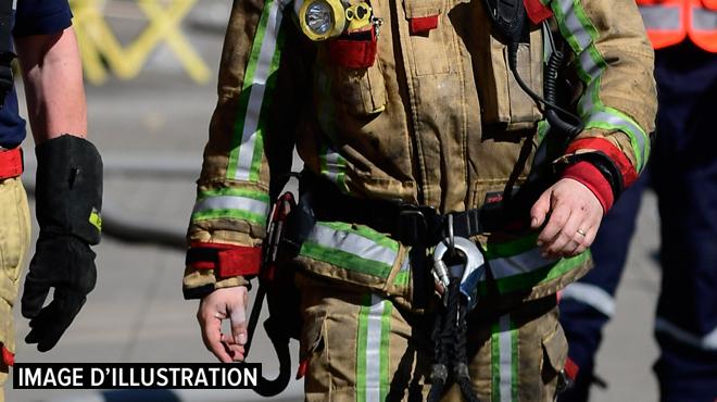 Une maison ravagée par les flammes à Grez-Doiceau: les dégâts sont importants