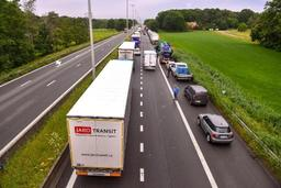 Les embouteillages en Belgique ont été moindres sur les six premiers mois de l'année