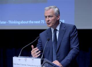 G7 Finances- Le Maire s'attend à des discussions difficiles avec les Etats-Unis sur le numérique
