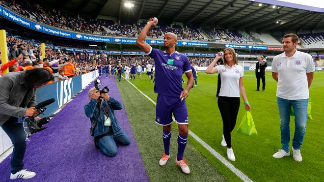 Inquiétude à Anderlecht: la première de Vincent Kompany se jouera-t-elle dans un stade vide?