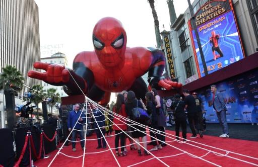 Spider-Man continue à tisser sa toile au sommet du box-office français