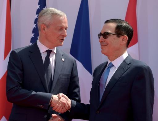 G7: consensus face au Libra de Facebook, pas encore sur la taxe sur le numérique