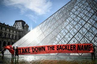 Crise des opioïdes- le Louvre masque le nom de donateurs controversés