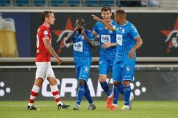 Jupiler Pro League - La Gantoise gagne contre l'AZ Alkmaar