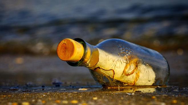 Une bouteille à la mer retrouvée 50 ans après — Australie