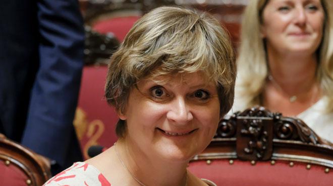 Sabine Laruelle proclamée présidente du Sénat