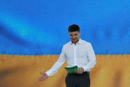 Zelensky, un président ukrainien hors du commun