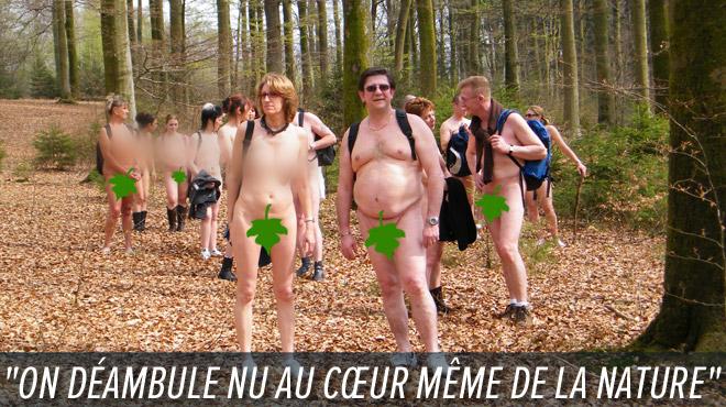 Paul-Yves organise une dernière RANDONNUE (promenade tout nu) dans la région de Florenville: