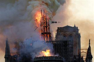 Plomb autour de Notre-Dame- Paris veut rassurer sur la santé des enfants