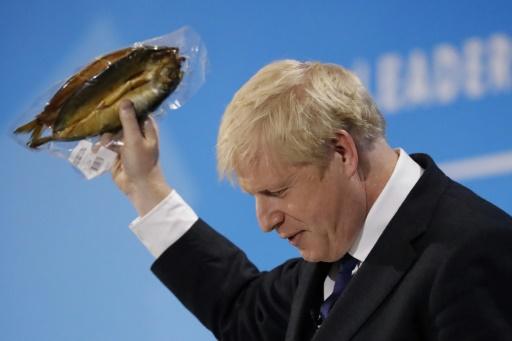 Prise de bec entre Boris Johnson et l'UE sur des harengs