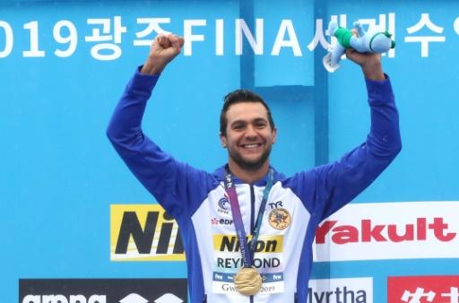 Mondiaux de natation: pluie de médailles sur Yeosu: Reymond conserve l'or, Grangeon en bronze