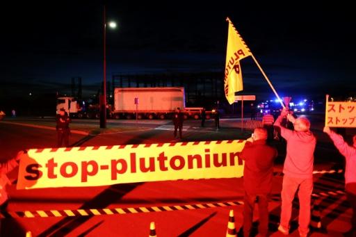 Greenpeace temporairement tenue à l'écart des convois de matières radioactives
