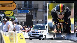 Tour de France - le Belge Wout van Aert abandonne après sa lourde chute 5