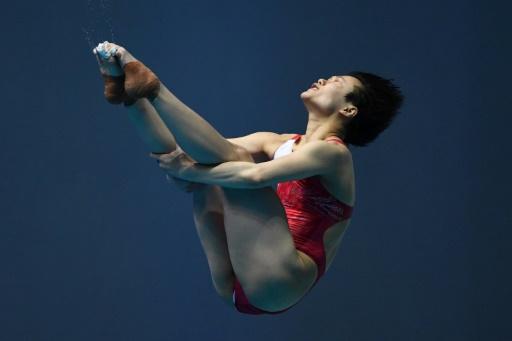 Mondiaux de natation: le plongeon chinois déjà record, à portée du Grand Chelem