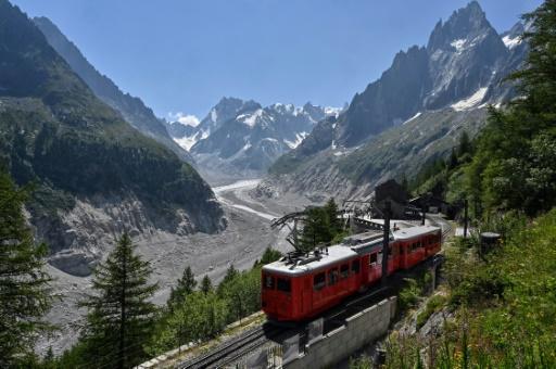 Haute-Savoie : le petit train du Montenvers fête ses 110 ans