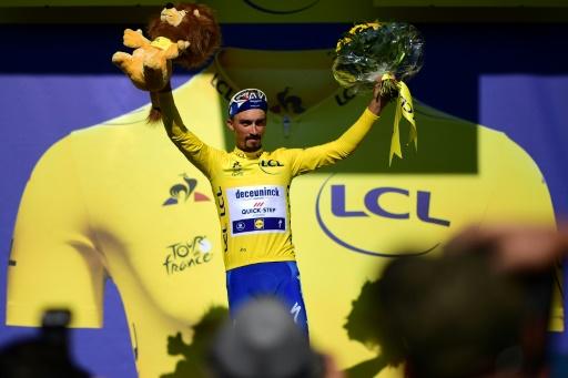 Tour de France: le maillot jaune,