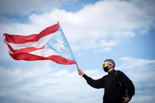 Pour le rappeur portoricain Bad Bunny, les manifestations passent avant la musique