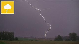 Prévisions météo- de la pluie, de la grêle et du vent pour débuter le week-end 5