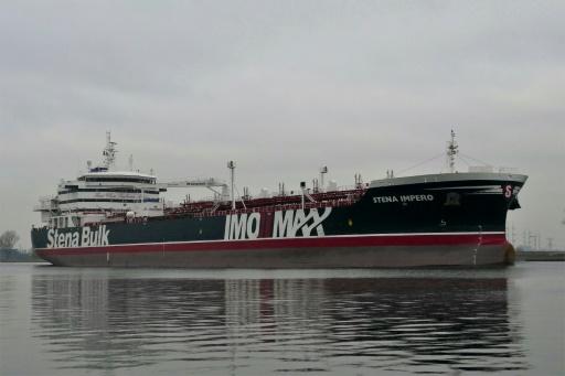 Un tanker battant pavillon britannique saisi par Téhéran ancré dans un port iranien