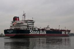 Un pétrolier battant pavillon britannique saisi ancré à un port iranien