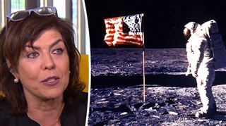 En 1969, Armstrong marchait sur la Lune- J'avais peur qu'en mettant le pied, il se passe quelque chose, se souvient Joëlle Milquet, 8 ans à l'époque