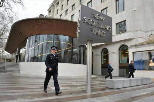 Le compte Twitter de Scotland Yard piraté