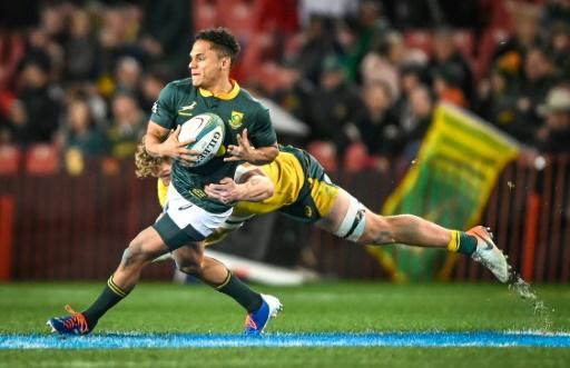 Rugby: l'Afrique du Sud portée par Herschel Jantjies domine l'Australie