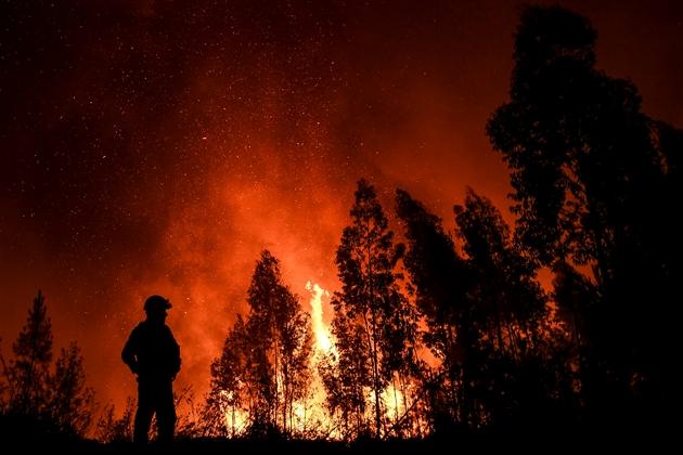 Plus de mille pompiers mobilisés pour éteindre les incendies — Portugal