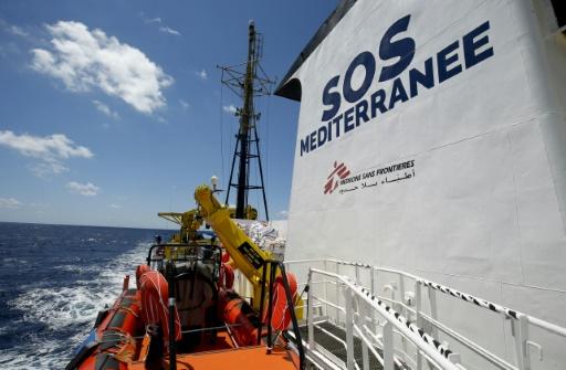 Migrants: après l'arrêt de l'Aquarius, SOS-Méditerranée relance les secours