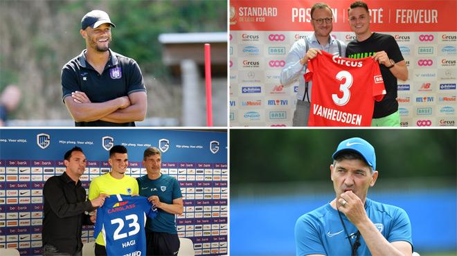Anderlecht frappe fort, le Standard se renouvelle et Genk change de cap: voici notre Top 5 du mercato belge