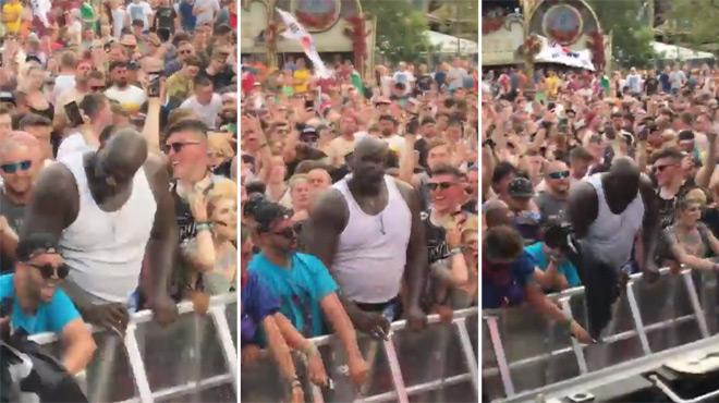La légende de la NBA Shaquille O'Neal fait une apparition remarquée à Tomorrowland