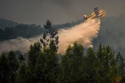 Portugal : vents et sécheresse compliquent la lutte contre un grand incendie