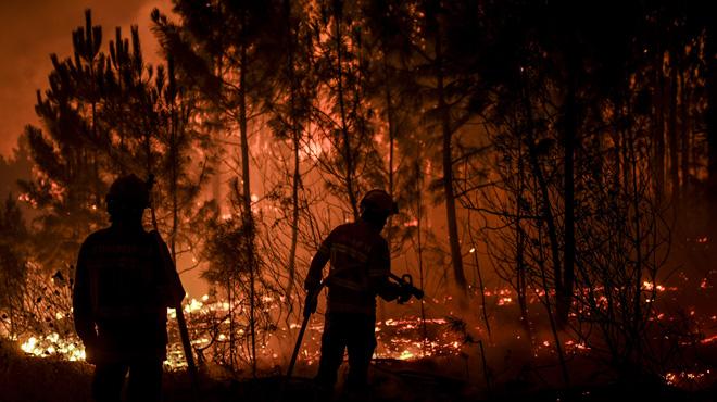 Le Portugal lutte contre des incendies