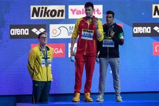 Mondiaux de natation- Tout le monde l'a applaudi- les nageurs font bloc derrière Horton