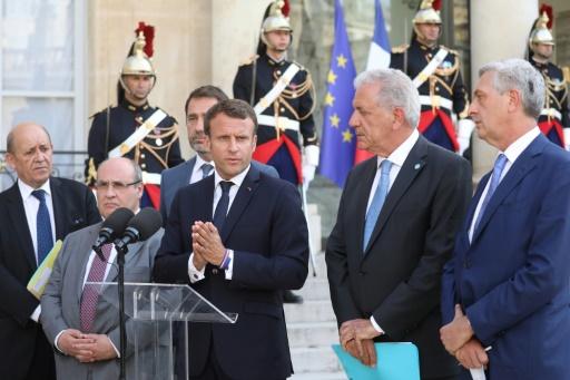 Migrants en Méditerranée: 14 pays européens d'accord sur un