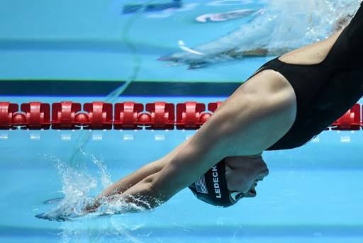 Mondiaux de natation: Ledecky forfait sur 200 m et pour la finale du 1500 m pour