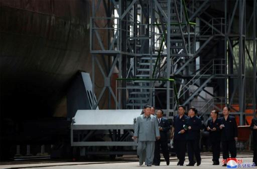 Corée du Nord: Kim Jong Un inspecte un sous-marin dans un contexte d'impasse avec Washington