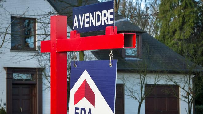 Les maisons ont vu leur valeur grimper de 30.000€ en 5 ans