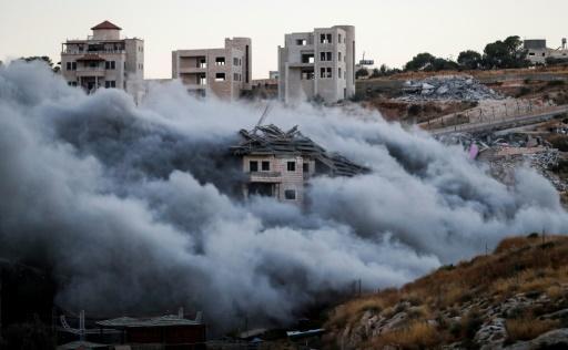 Israël dit avoir détruit 12 bâtiments de Palestiniens près de Jérusalem