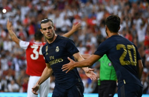 Amical: le Real bat Arsenal aux tirs au but, Bale joue et marque