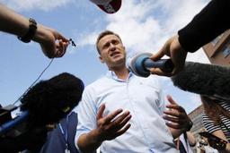 Russie: l'opposant Alexeï Navalny annonce avoir été arrêté