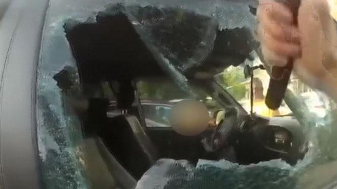 Des policiers sauvent un bébé de 7 mois coincé dans une voiture en plein soleil aux Etats-Unis